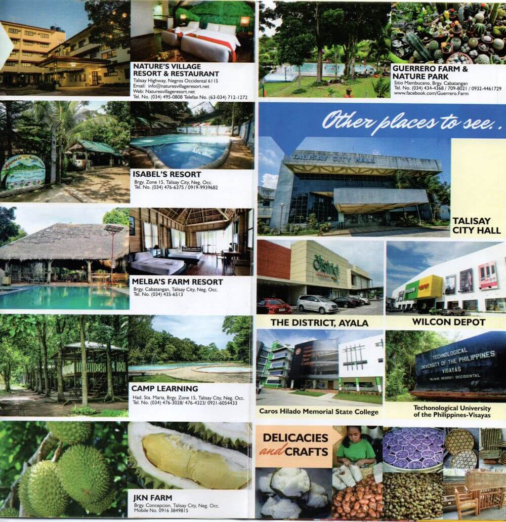 talisay city tourism brochure